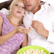 Scared couple — Stock Photo