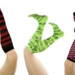 Socks set different positions — Stock Photo #12094703