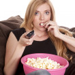 Watching movie — Stock Photo