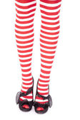 Frente de santas pernas auxiliar reta — Foto Stock
