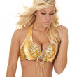 Belly dancer serious — Stock Photo #12100117