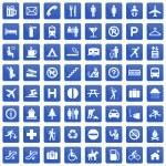 Pictogram set — Stock Vector