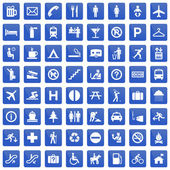 Pictogram set — Stock Vector