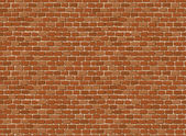 Vector seamles old brick wall (Background) — Stock Vector