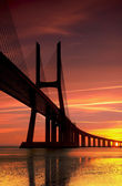 Vasco da Gama at Sunrise — Stock Photo