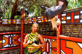 Zulu woman,South Africa — Stock Photo