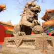 Ancient bronze lion (Beijing, China) — Stockfoto #11997346