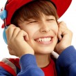 Young boy showing a thumbs up — Stock Photo #11949841