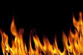Fuego negro — Foto de Stock