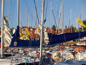 The Mikolajki Marina — Stock Photo