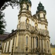 The Krzeszow abbey - Stock Photo