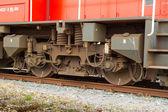 поезд колесо — Стоковое фото