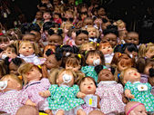 Several Dolls — Stock Photo