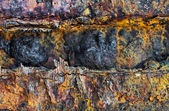 Oxidized iron — Stock Photo