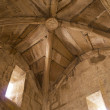 Foto Stock: Vaulted ceiling