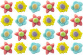 Gummy flowers — Stock Photo