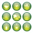 Set of winery sphere icons — Stock Vector #12048897