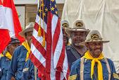 Buffalo Soldiers — Stock Photo