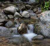 Water over Rocks — Foto Stock