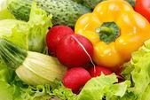 野菜とグリーン — ストック写真
