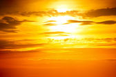 Sunset photo — Stock Photo