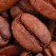 Coffee beans macro photo — Stock Photo