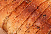 Sliced bread as background — Stock Photo