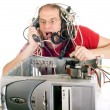 Technology panic — Stock Photo #11981966
