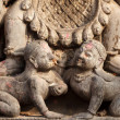 Hindu sculpture detail — Stock Photo
