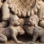 Hindu sculpture detail — Stock Photo #11988240