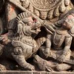 Hindu sculpture detail — Stock Photo #11988256