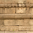Carved temple wall — Stock Photo #11988351