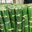 Wrapped banana leaves - Stock Photo