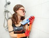 ヒッピー ブラシを愛してください。 — ストック写真