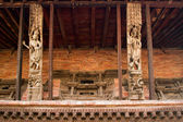 Hindu temple in Nepal — Stock Photo