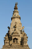 Hindu temple spire — Stock Photo