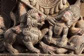 Hindu sculpture detail — Стоковое фото