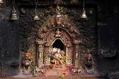 Hinduskie święte ołtarza — Zdjęcie stockowe