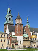 Royal Wawel Castle,Cathedral in Cracow - Poland — Stock Photo