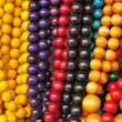 Stock Photo: Colorful beads folk Art - Zakopane Poland
