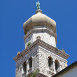 Church Tower - in south of Croatia — Zdjęcie stockowe #12372672