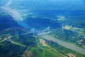 Panama-kanal — Stockfoto