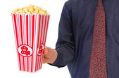 Popcorn movie — Stock Photo