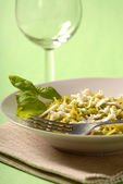 Pesto meal — Stock Photo