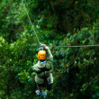 Canopy Tour - Stock Photo