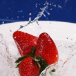 Strawberry Splash — Stock Photo #12001808