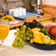 Breakfast Fruits — Stock Photo
