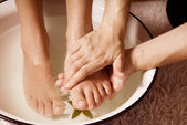 Pedicure — Foto de Stock