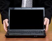 Laptop — Stockfoto