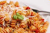 Macro pasta — Stock Photo